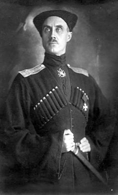 Baron Pyotr Nikolayevich Wrangel, a.k.a The Black Baron, was an officer in the Imperial Russian army and later commanding general of the anti-Bolshevik White Army in Southern Russia in the later stages of the Russian Civil War. After losing to the Bolsheviks, Wrangel escaped to Belgium where he established the Russian All-Military Union to fight for the preservation and unity of all White forces living abroad. The baron died suddenly in 1928 of alleged poisoning by a Soviet spy.
