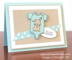 Made with Love, Stampin' Up!, Brian King, PPA257 pool party, sahara, white