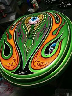 Tim Graham Boo pinstriping