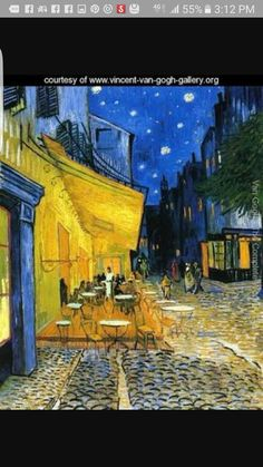 Reminiscent of Van Gogh. Find this colorful piece at Kohl's. Art Wall x ''The Cafe Terrace on The Place Du Forum'' Canvas Wall Art by Vincent van Gogh Vincent Van Gogh, Canvas Wall Art, Canvas Prints, Wall Mural, Wall Decor, Decor Room, Jigsaw Puzzle, Painting Prints, Art Prints