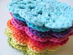 Crochet Coasters Posavasos de crochet
