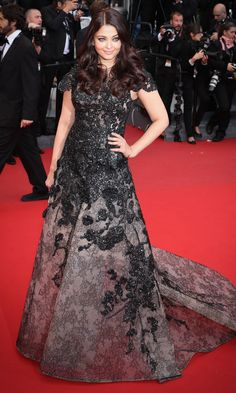Aishwarya Rai Bachchan At The Premiere Of 'Inside Llewyn Davis' At Cannes film Festival, 2013