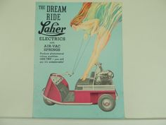 Using Vintage Car Clip Art to Design Almost Anything Vintage Golf, Vintage Cars, Custom Golf Carts, Moped Scooter, 1940s, Vintage Outfits, Electric, Scooters, Amazing