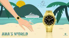 Illustration I Ana's World I Geneva I #illustrations #watches #rolex #luxury Geneva, Flat Design, Rolex, Digital Art, Advertising, Illustrations, Watches, Luxury, World