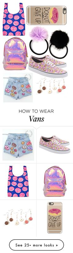 """Donuts!"" by little00neko on Polyvore featuring Carole, BAGGU, Miss Selfridge, Vans and Casetify"