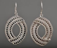 Large Earrings by Anna Beck - Silverscape Designs