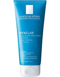 La Roche-Posay Effaclar Shine Control Clay Face Mask is formulated with gentle clays to eliminate excess oil and invisible impurities (dust, pollution particles) and control shine.