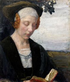 Renaissance Woman Reading by Edgar Maxence on Curiator, the world's biggest collaborative art collection. Girl Reading Book, Reading Art, Woman Reading, Funny Paintings, Cool Paintings, History Puns, Art History, Funny Nerd Jokes, Digital Museum