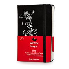 2015 12 months - Mickey Mouse Weekly Notebook Planner - Moleskine Ireland