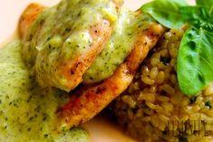Grilované kuracie prsia s výbornou brokolicovou omáčkou a ryžou natural Cooking Recipes, Healthy Recipes, Healthy Food, Russian Recipes, Food Inspiration, Risotto, Clean Eating, Paleo, Guacamole