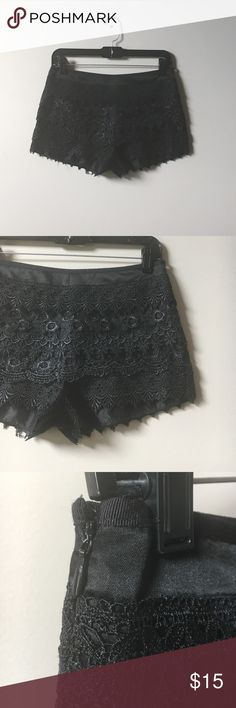 Selling this Crochet lace bloomer shorts on Poshmark! My username is: meadowsandreeds. #shopmycloset #poshmark #fashion #shopping #style #forsale #Tj maxx #Pants