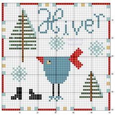 mausimom's Vogel-Freebies: 1-2-3-4-Vogel französisch