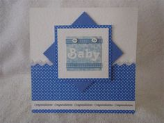 card style could be used for a girl or a boy- and the blogger suggests using scraps- too cute and too smart!