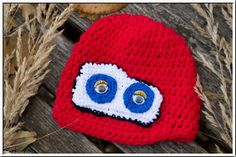 #Car Eye #Mütze #kindermütze #strickmütze #handmade #strickparadies