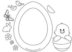 Arts And Crafts Storage Product Easter Projects, Easter Crafts For Kids, Japan Crafts, Arts And Crafts Storage, Easter Colouring, Diy Ostern, Easter Activities, Easter Holidays, Easter Wreaths