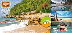 Hotel Lagunita en Yelapa, Jalisco - $595 en lugar de $1,510 por 1 Día & 1 Noche en Habitación con Vista al Mar para 2 Personas + Uso Ilimitado de Kayak Click http://cupocity.com