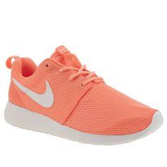 quality design 5a3dc 3aa87 Nike Orange Roshe One Trainers Womens Nike Trainers, Roshe One, New Shoes,  Orange