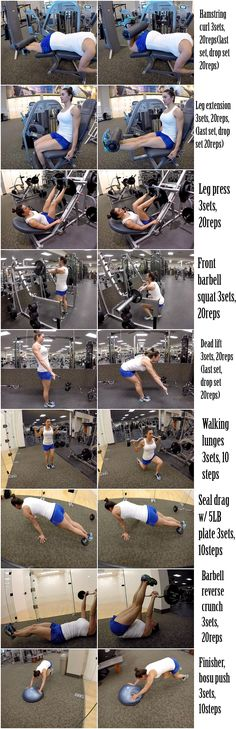 5 Weeks to Get Fit ChallengeDay 25- LEGS & ABS
