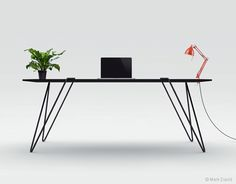 BLK table by Mark David