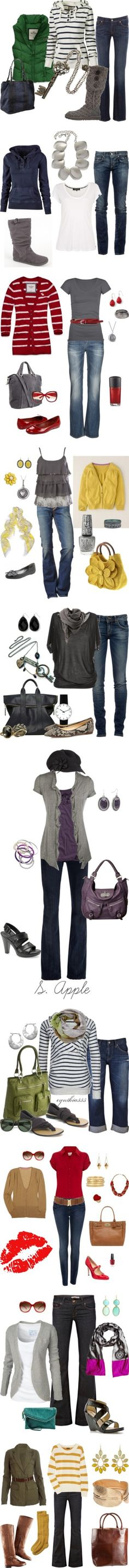 """Fall Fashion"" by riddlechick on Polyvore"