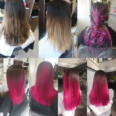 #pinkhair #newcolor #longhair #coiffurecitylangenthal #schwarzkopfproch Pink Hair, Tulle, Long Hair Styles, Skirts, Fashion, Hairstyle, Hairdos, Rosa Hair, Moda
