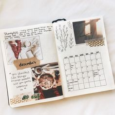 my december monthly spread! - choose kind