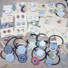 納品準備中  埼玉県川口市にありますouchi_shopさん@ouchi_shop への納品分です  なかなか送れなかったピアスやリングペンダントや新作もちょこっと  明日発送します どうぞよろしくお願いいたします