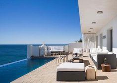 Modern Pool View