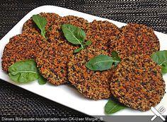 Quinoa-Bratlinge
