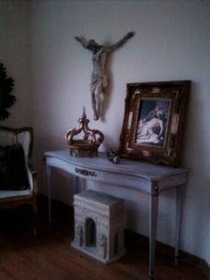 Painted Craigslist Table...