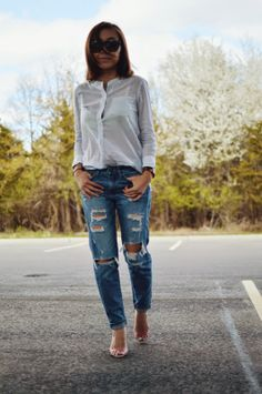 Boyfriend Jeans with Boba Tea   The Exposed Closet