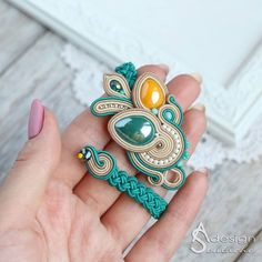 Soutache Bracelet, Soutache Jewelry, Boho Jewelry, Embroidery Jewelry, Beaded Embroidery, Tassel Earrings, Beaded Necklace, Plastic Canvas Tissue Boxes, Plastic Canvas Patterns