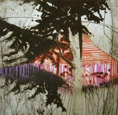 Katherine Jones   Magenta Strip   Prints   Art