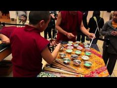 Buddhist Monks Building (And Subsequently Destroying) An Intricate Sand Mandala - Digg
