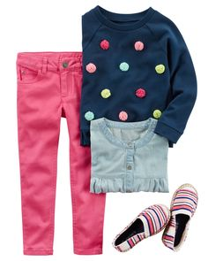 Toddler Girl CARDEC35TS17 from Carters.com. Shop clothing & accessories from a trusted name in kids, toddlers, and baby clothes.