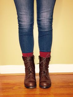 Taylor Boots. Perfect for Fall.
