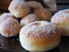 Tvarohové šišky - Receptár | Žena.sk Beignets, Doughnut, Rum, Hamburger, Bakery, Muffin, Bread, Breakfast, Desserts