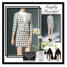 """""""Simply Beautiful"""" by ester-ludwig ❤ liked on Polyvore featuring Jimmy Choo and Eva Solo"""