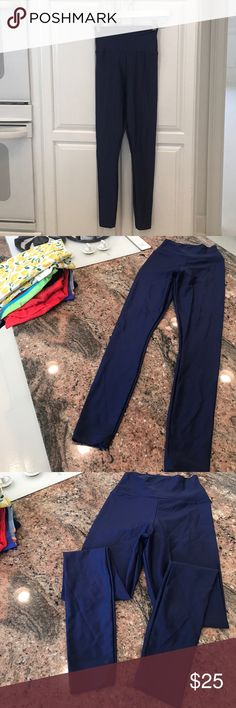 American Apparel Med size blue Pants Leggings