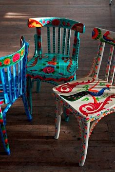 fair trade chairs by Plumo