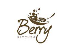 Logo Design Restaurant - Logo Berry Kitchen (online catering) - #0