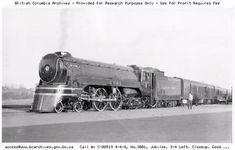 CPR 3001 at Edmonton Alberta 1938