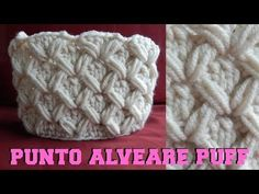 Punto fiocchetti all'uncinetto tutorial - YouTube
