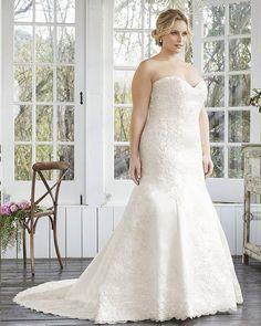 #CasablancaBridal #fall 2016 #Autumn #bloom #collection #plussize #plussizemodel #plussizefashion  Платье по фигуре для невесты с роскошными формами? Почему нет? Великолепно!  #bridemagru #платьедляполных #невеста #мода #стиль #тренды #модель #свадьба  #wedding #fashion #bride #trends #dress #weddingdress #weddinggown #style #model #look #weddingfashion #weddingtrends #wedding