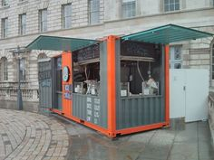 butcher and bee shipping container coffee - Google Search