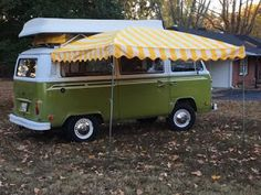 Vintage Trailer Awnings by Kristi dfoster@bellsouth.net Volkswagen Bus Awning Arched
