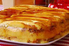 Esta tarta es fresca, dulce y apetitosa, tiene el sabor casero de las meriendas de toda la vida, me encanta.           INGREDIENTES:     ...