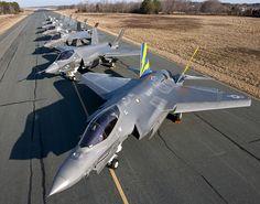F-35s at NAS Patuxent River by Lockheed Martin