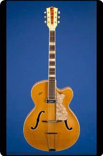 Hofner / 456/S/b Acoustic (fitted With Schaller Pickup) / 1960 / Natural