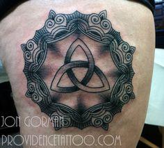 by jon gorman at providence tattoo  #jongorman #providencetattoo #celtic #tattoo #celtictattoo #blackwork #linework #blackandgrey